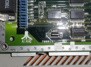 C-LAB FALCON MK II - matičná doska s logom Atari