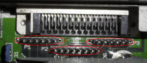 C-LAB Falcon MK II - interný SCSI konektor