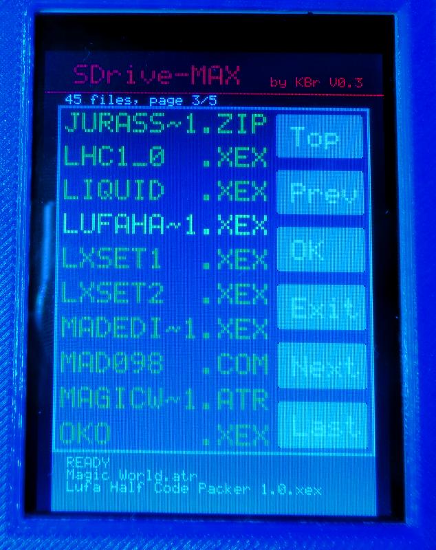 SDrive-MAX - dlhé názvy súborov