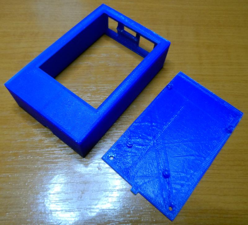 SDrive MAX - krabička z 3D tlačiarne