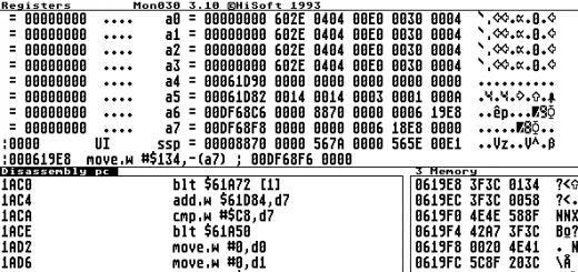 Programovanie v assembleri na Atari Falcon