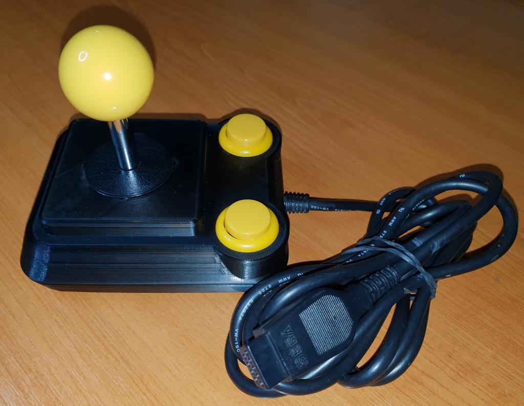Finálne prevedenie Atari joysticku