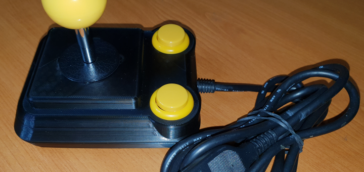 Nový Atari joystick