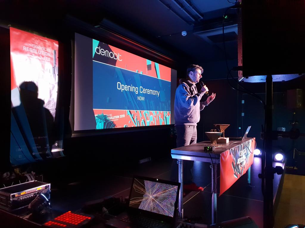 Demobit - Jano Gordulic ako speaker